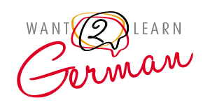 Want to Learn German Logo